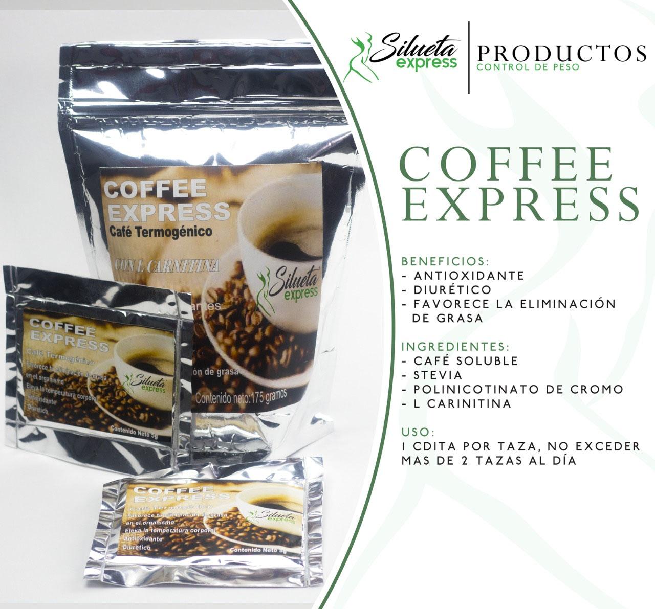 coffee express silueta